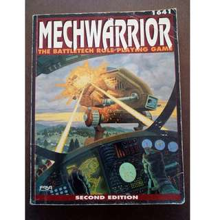 Mechwarrior - The Battletech Role Playing Game RPG by FASA