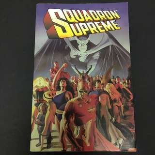 Squadron Supreme TPB Vol 1 Marvel Comics Book Avengers Movie