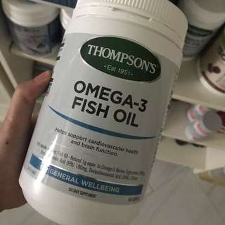 Thomson's Omega 3 Fish Oil 400 capsules