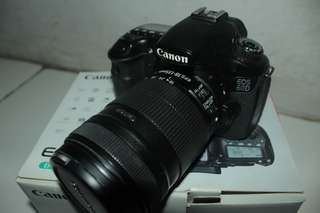Canon 60d + lensa sapujagad 18-135mm fullset