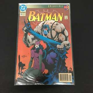Batman 498 DC Comics Book Justice League Movie