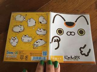 Nyanpuku Cat Post-its