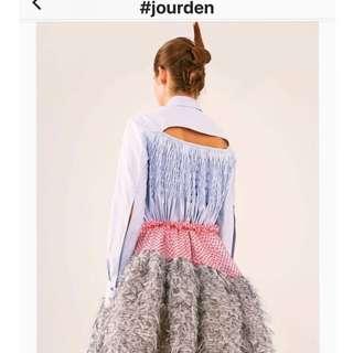 全新Jourden 娃娃款恤衫with tag ,袖口背面好特別,購於連卡佛,非一般傳統恤衫款,型格,原價3999🈹🈹價出售