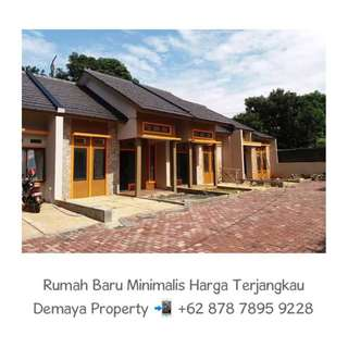 Miliki Rumah Minimalis dalam Cluster Harga Terjangkau di Tengah Kota Depok