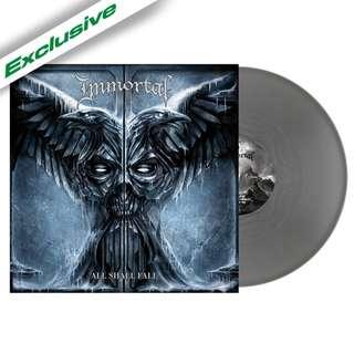 Immortal – All Shall Fall (Silver) LP Vinyl