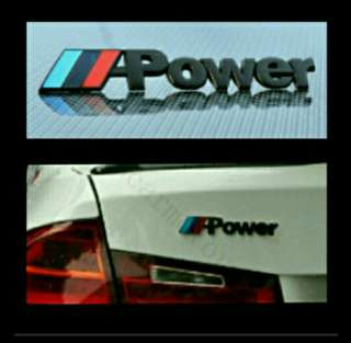 M-power Emblem for BMW