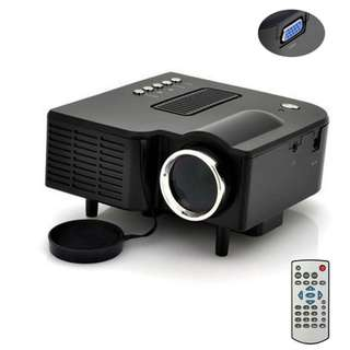 HD Multimedia Portable Mini LED Projector Projector Home Theater HDMI