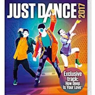 收 switch Just Dance 2017/2018