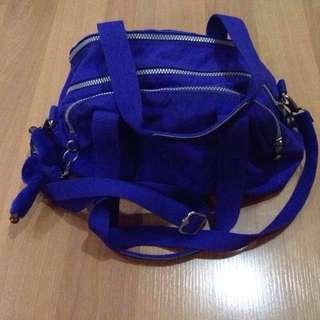 Original KIPLING royal blue sling bag