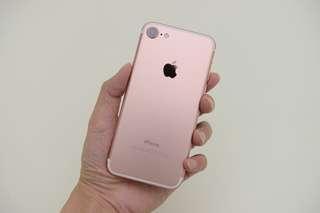 Iphone7 128Gb 玫瑰金