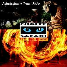Night Safari with Tram ride-Open date