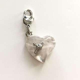 Vivienne Westwood Gemstone Heart Charm