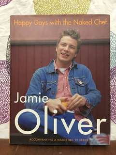 Happy Days with the Naked Chef by Jamie Oliver (Hardback)