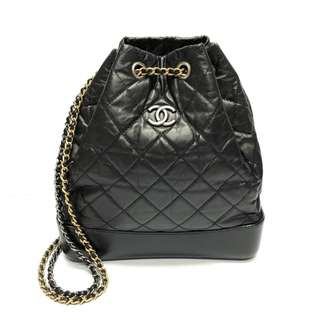 Authentic Chanel Gabrielle Small Black