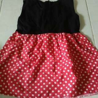 Dress minnie mos