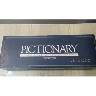 Vintage Pictionary 1st Edition (No. 100)