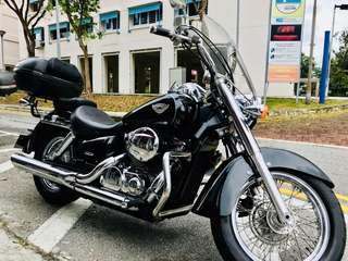 Honda shadow 750( shaft driven coe 5/2027 )