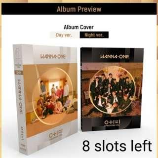 [Pre-Order] Wanna One 2nd Mini Album 0+1=1 I.P.U