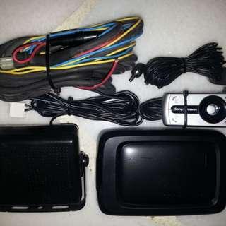 Sony Ericsson HCB-300 Bluetooth Handsfree in car Parrot Pioneer Sony Kenwood alpine iphone Samsung galaxy speaker tweeters amplifier
