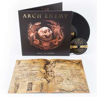 Arch Enemy - Will To Power Gatefold CD+LP Vinyl