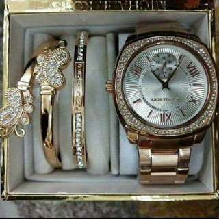 mk set with BANGLES