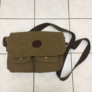 Canvas Sling/Meessenger Bag