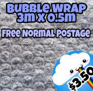 NEED TO PROTECT YOUR GOODS? GET BUBBLE WRAP 😊
