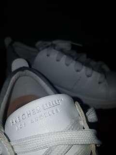 Skecher Street White Sneakers