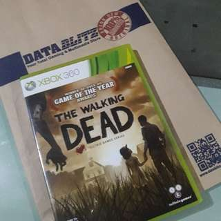 Xbox Walking Dead Game.