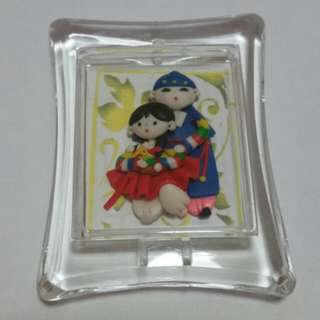 Korean Wedding Couple Pendant
