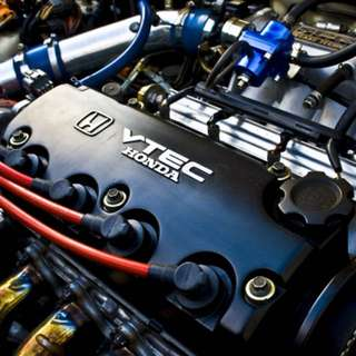 Honda SOHC D series vtec engine valve cover soHc DOHC civic eg ek dc b series k20 type r