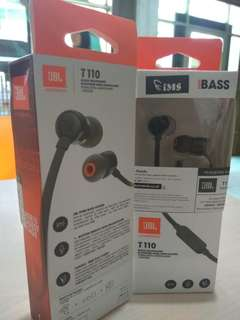JBL T110 in ear headphone garansi resmi