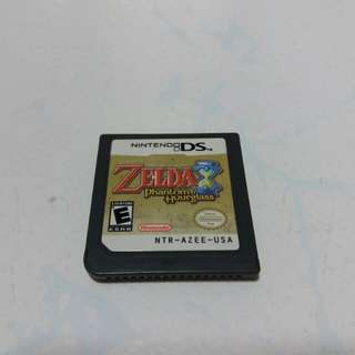 Zelda Phantom Hourglass cartridge