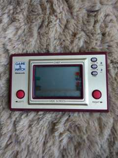 Nintendo Game & Watch 1981 CHEF