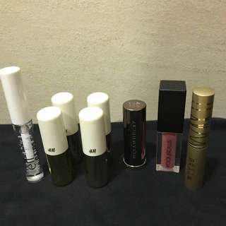 Lipstick Clearance- Urban Decay- Stila- Smashbox- Elf- H&M