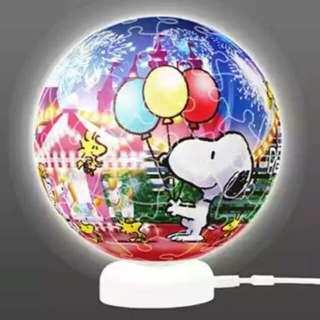 🚚 Pintoo 立體燈光球體拼圖