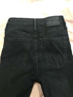 Levis mile high jeans ( size 6) will fit size 8 super stretchy