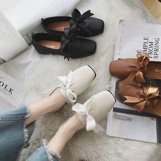 (PO) Chic Ribbon Flats