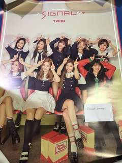 Twice Signal Official Posters