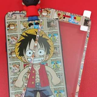 One piece manjat plus tempred glass for oppo a37 neo 9