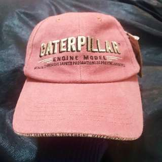Caterpillar Red Cap