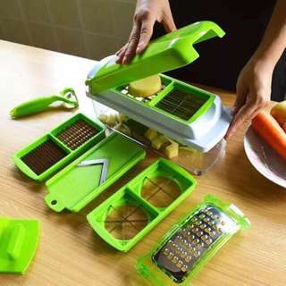 Nicer Dicer Plus Multi-function Peeler Slicer Cutter Chopper