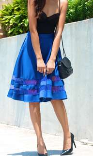 Apartment 8 Blue Midi Skirt