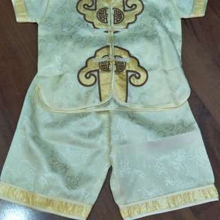 Baby Apparel (set), yellow color
