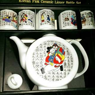 韓國茶具hk120元
