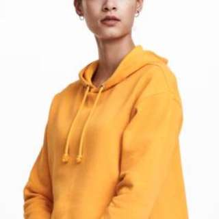 Orange hoodie from H&M *not cropped*