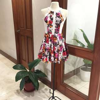 Apartment 8 Floral Fit & Flare Dress