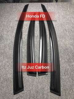 Honda FD Carbon rain visor
