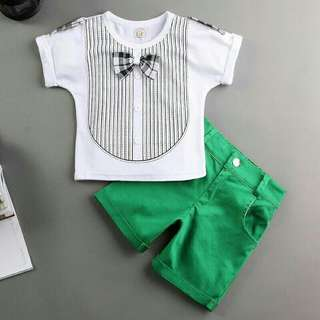 *FREE DELIVERY to WM only / Ready stock* Kids 4-5yo boy set each as shown design/color. Free delivery is applied for this item.