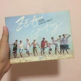 """Exciting """"Special Single"""" by ZE:A Children of Empire (SIGNED! ✨)"""